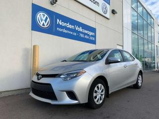 Used 2015 Toyota Corolla AUTOMATIC - PWR PKG + BLUETOOTH for sale in Edmonton, AB