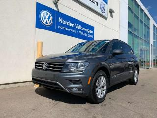 Used 2018 Volkswagen Tiguan TRENDLINE W/ CONVENIENCE PKG - VW CERTIFIED for sale in Edmonton, AB