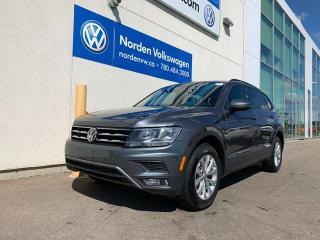 Used 2018 Volkswagen Tiguan TRENDLINE W/ CONVENIENCE PKG - VW CERTIFIED for sale in Edmonton, AB
