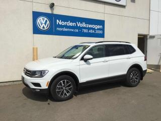 New 2019 Volkswagen Tiguan COMFORTLINE for sale in Edmonton, AB