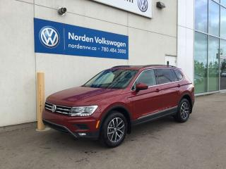 Used 2019 Volkswagen Tiguan COMFORTLINE for sale in Edmonton, AB