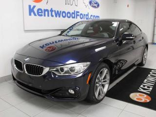 Used 2016 BMW 4 Series 428i xDrive, Auto Start/Stop, Power Heated Seats, Rear View Camera, Navigation for sale in Edmonton, AB