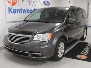 Used 2016 Chrysler Town & Country Touring FWD with heated power seats, heated steering wheel, power sliding side doors and rear climate control for sale in Edmonton, AB