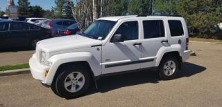 Used 2010 Jeep Liberty SPORT; 4X4, GREAT CONDITION, CRUISE CONTROL, A/C AND MORE for sale in Edmonton, AB