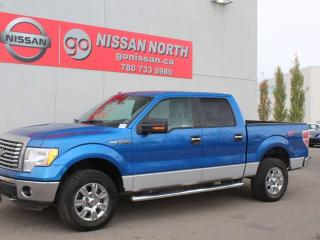 Used 2012 Ford F-150 XLT/4X4/SUPER CREW CAB/ONE OWNER for sale in Edmonton, AB