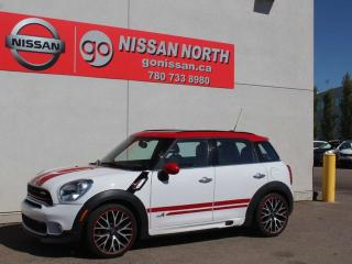 Used 2015 MINI Cooper Countryman John Cooper Works/AWD/LEATHER/PANO ROOF for sale in Edmonton, AB