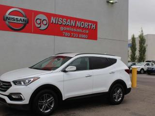 Used 2018 Hyundai Santa Fe Sport Premium/AWD/HEATED SEATS/HEATED WHEEL for sale in Edmonton, AB