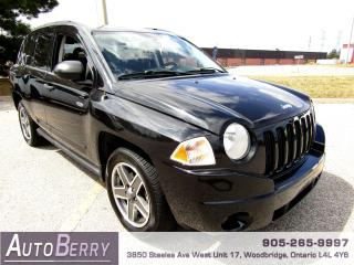 Used 2009 Jeep Compass SPORT - 4WD - 2.4L for sale in Woodbridge, ON