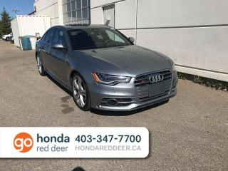 Used 2013 Audi S6 Prestige AWD Navigation Heated Wheel for sale in Red Deer, AB