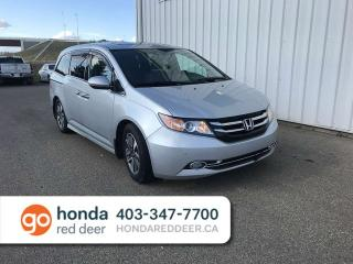 Used 2014 Honda Odyssey Touring Navigation Back Up Camera for sale in Red Deer, AB