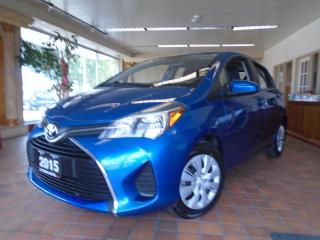 Used 2015 Toyota Yaris 5dr HB Auto LE LOW KM B-TOOTH A/C PW PL PM CRUISE for sale in Oakville, ON