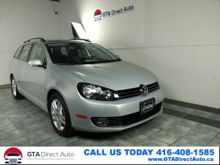 Used 2011 Volkswagen Golf Wagon Comfortline TDI 6-Speed Heated Low KM Certified for sale in Toronto, ON