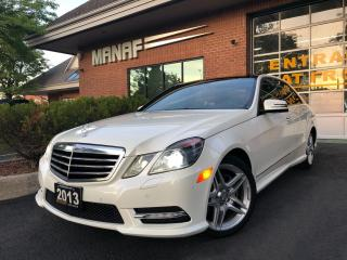 Used 2013 Mercedes-Benz E-Class E350 4MATIC AMG Navi Rear Cam Panoramic Certified* for sale in Concord, ON