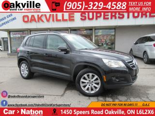 Used 2011 Volkswagen Tiguan 2.0 TSI COMFORTLINE | PANOROOF | LEATHER | HTD STS for sale in Oakville, ON