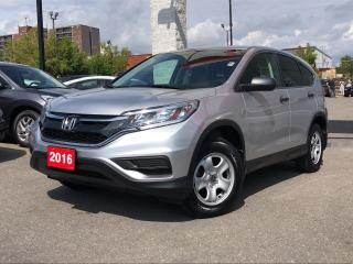 Used 2016 Honda CR-V LX, low mileage, for sale in Toronto, ON