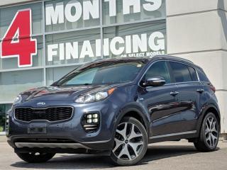 Used 2017 Kia Sportage SX Turbo | Beige Leather Interior for sale in St Catharines, ON