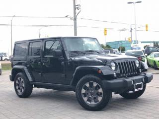 Used 2015 Jeep Wrangler Unlimited Sahara**X Edition**NAV**TOW Package**Leather for sale in Mississauga, ON