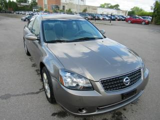 Used 2005 Nissan Altima 2005 Nissan Altima - 4dr Sdn I4 Auto 2.5 S for sale in Toronto, ON