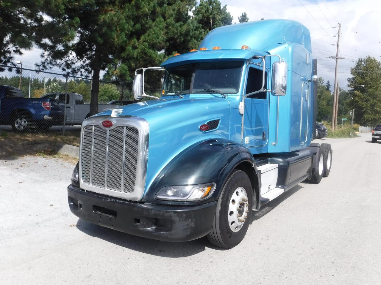 Used 2013 PETERBILT 386 Highway Tractor Diesel Air Brakes