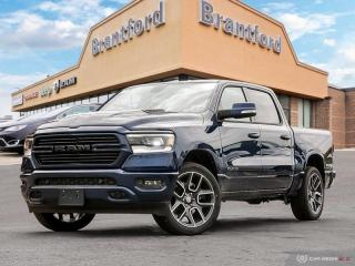 Used 2020 RAM 1500 Sport  - Leather Seats -  Cooled Seats for sale in Brantford, ON