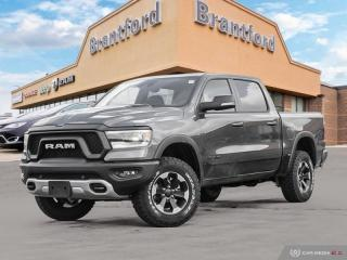 Used 2020 RAM 1500 Rebel  - Leather Seats - Navigation for sale in Brantford, ON