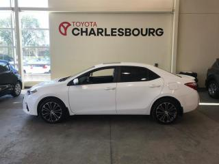 Used 2016 Toyota Corolla S GROUPE AMÉLIORÉ for sale in Québec, QC