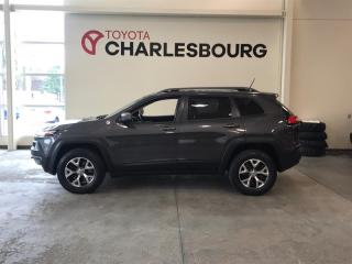 Used 2015 Jeep Cherokee TRAILHAWK PREMIUM for sale in Québec, QC