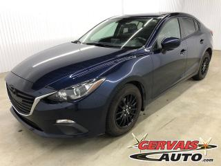 Used 2016 Mazda MAZDA3 GS A/C MAGS CAMÉRA DE RECUL BLUETOOTH A/C for sale in Shawinigan, QC