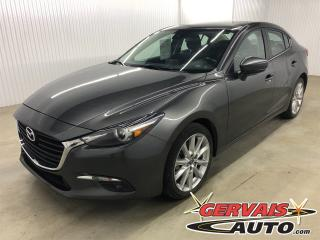 Used 2017 Mazda MAZDA3 GT MAGS TOIT CAMÉRA DE RECUL BLUETOOTH for sale in Trois-Rivières, QC