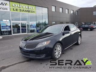 Used 2013 Lincoln MKS 3.5L AWD EcoBoost, full équipé, a/c, cuir, mags, t for sale in Chambly, QC