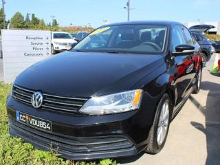 Used 2016 Volkswagen Jetta TRENDLINE +, 1.4 TSI, AUTOMATIQUE, APP CONNECT, CA for sale in Lasalle, QC