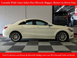 Used 2017 Mercedes-Benz CLA-Class CLA 250,AWD, Leather, Sunroof, Back Up Camera, Heated Seats for sale in Edmonton, AB