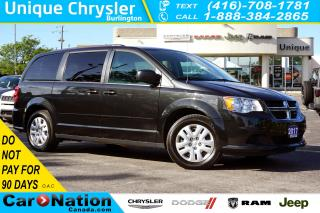 Used 2017 Dodge Grand Caravan SXT| BLUETOOTH| SIRIUSXM|-DIMMING MIRRORS for sale in Burlington, ON
