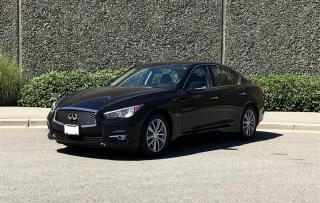 Used 2016 Infiniti Q50 2.0T AWD for sale in Vancouver, BC