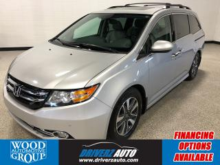 Used 2014 Honda Odyssey Touring CLEAN CARFAX, ONE OWNER.. for sale in Calgary, AB