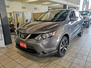 Used 2018 Nissan Qashqai SL AWD Sunroof Navigation Leather for sale in North York, ON