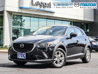 Used 2017 Mazda CX-3 GS - AWD, BLUETOOTH, MOONROOF, HEATED SEATS, REAR CAMERA for sale in Burlington, ON
