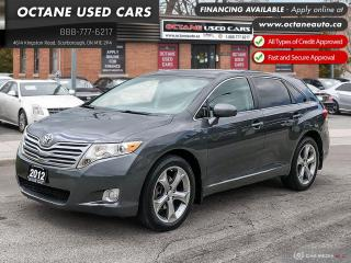 Used 2012 Toyota Venza V6 Leather! Certified! AWD! for sale in Scarborough, ON