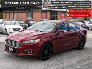 Used 2014 Ford Fusion SE Accident Free! 2 YR Warranty! for sale in Scarborough, ON