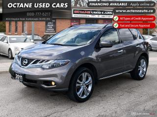 Used 2011 Nissan Murano LE Accident Free! 2 YEARS WARRANTY! for sale in Scarborough, ON