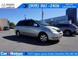 Used 2005 Toyota Sienna LE |AS-TRADED | 8 PASSENGER | POWER DOORS | for sale in Hamilton, ON