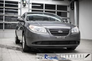 Used 2009 Hyundai Elantra GL chez Rimouski Hyundai for sale in Rimouski, QC