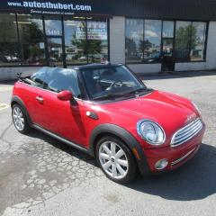 Used 2010 MINI Cooper CONVERTIBLE **CONVERTIBLE** for sale in St-Hubert, QC
