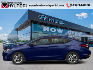New 2020 Hyundai Elantra Preferred w/Sun & Safety Package IVT  - $132 B/W for sale in Nepean, ON