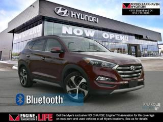 Used 2017 Hyundai Tucson Limited  - Navigation -  Leather Seats - $98.42 /Wk for sale in Ottawa, ON