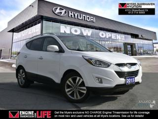 Used 2015 Hyundai Tucson Limited  - Navigation -  Sunroof - $101.37 /Wk for sale in Ottawa, ON