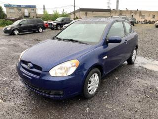 Used 2011 Hyundai Accent Hayon 3 portes, boîte automatique, GL for sale in Montréal-Nord, QC