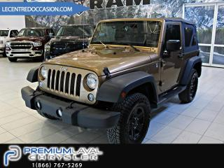 Used 2015 Jeep Wrangler SPORT for sale in Laval, QC