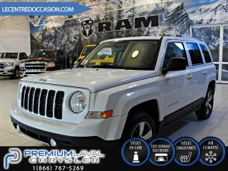 Used 2016 Jeep Patriot High Altitude CUIR/TOIT OUVRANT/4X4 for sale in Laval, QC