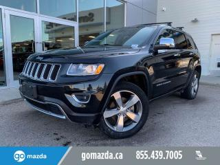 Used 2016 Jeep Grand Cherokee LIMITED LEATHER ROOF NAV 20' WHEELS 2TIRES for sale in Edmonton, AB